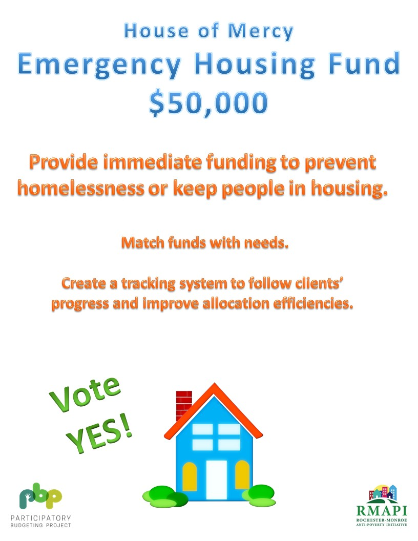 Image for House of Mercy Emergency Housing Fund