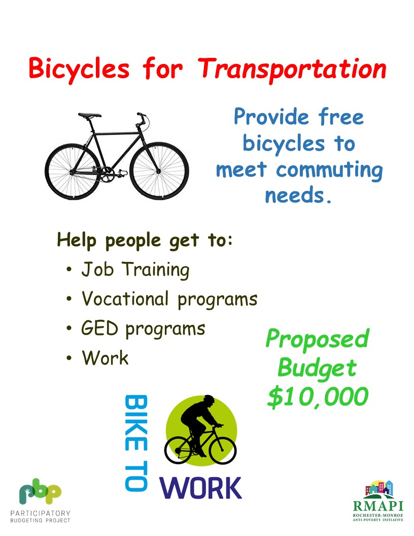 Image for Free Bicycles for Work or School