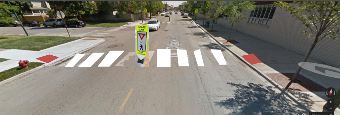 Image for Improve Pedestrian Crossing at Clark and Chase