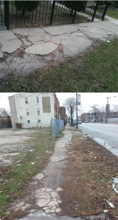 Image for Urgent Sidewalk Repairs in Residential and Green Space Areas