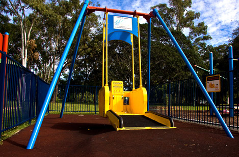 Image for Wheelchair swing