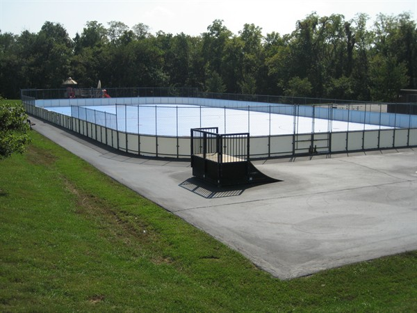 Image for Boards and a special playing surface for ball hockey : Dieppe Youth House