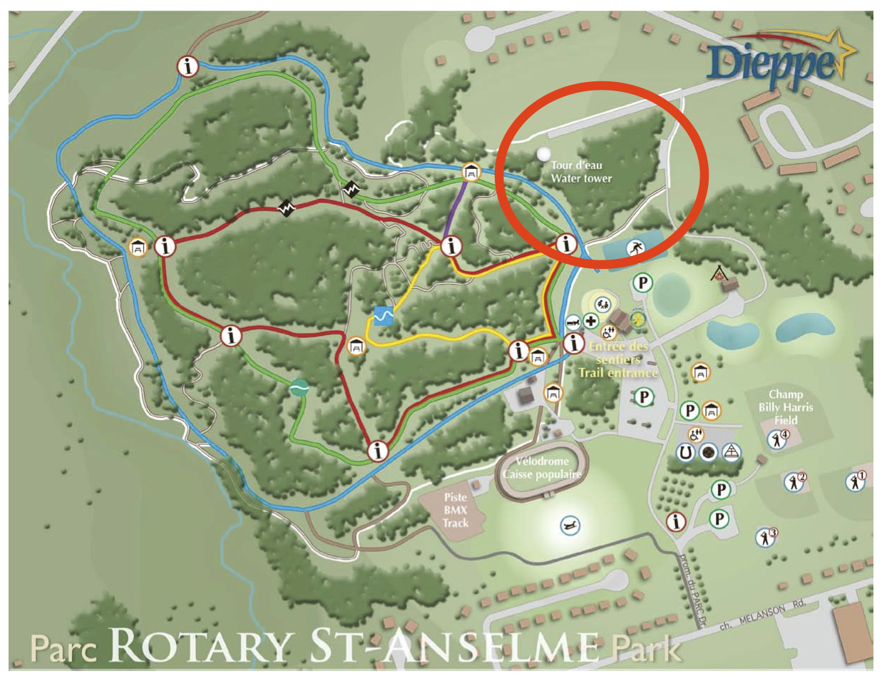 Image for Off-leash Dog Park : Rotary St-Anselme Park