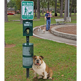 Image for Pet Waste Basket Benbow Park