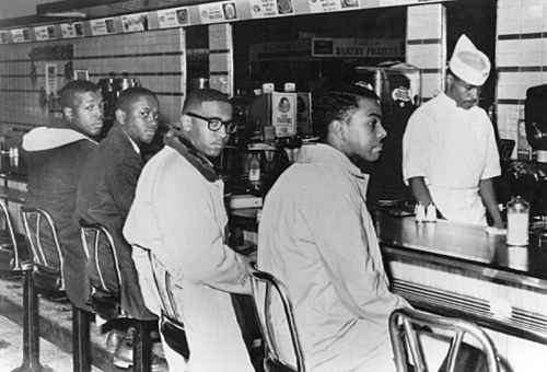 Image for Greensboro Four Dudley Alumni Mural