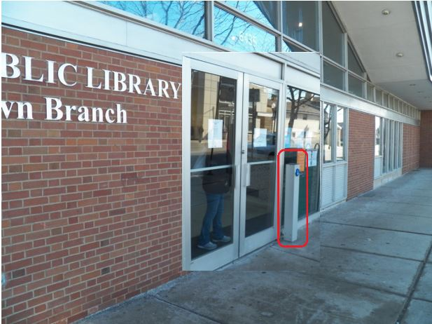 Image for Automatic Door Openers for Rogers Park Public Library