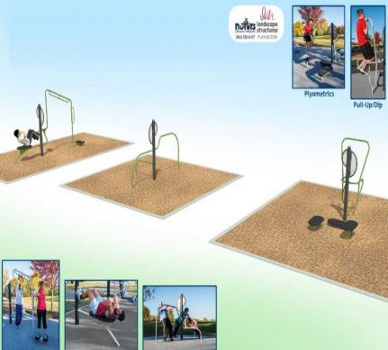 Image for Additional Exercise Equipment in Loyola Park