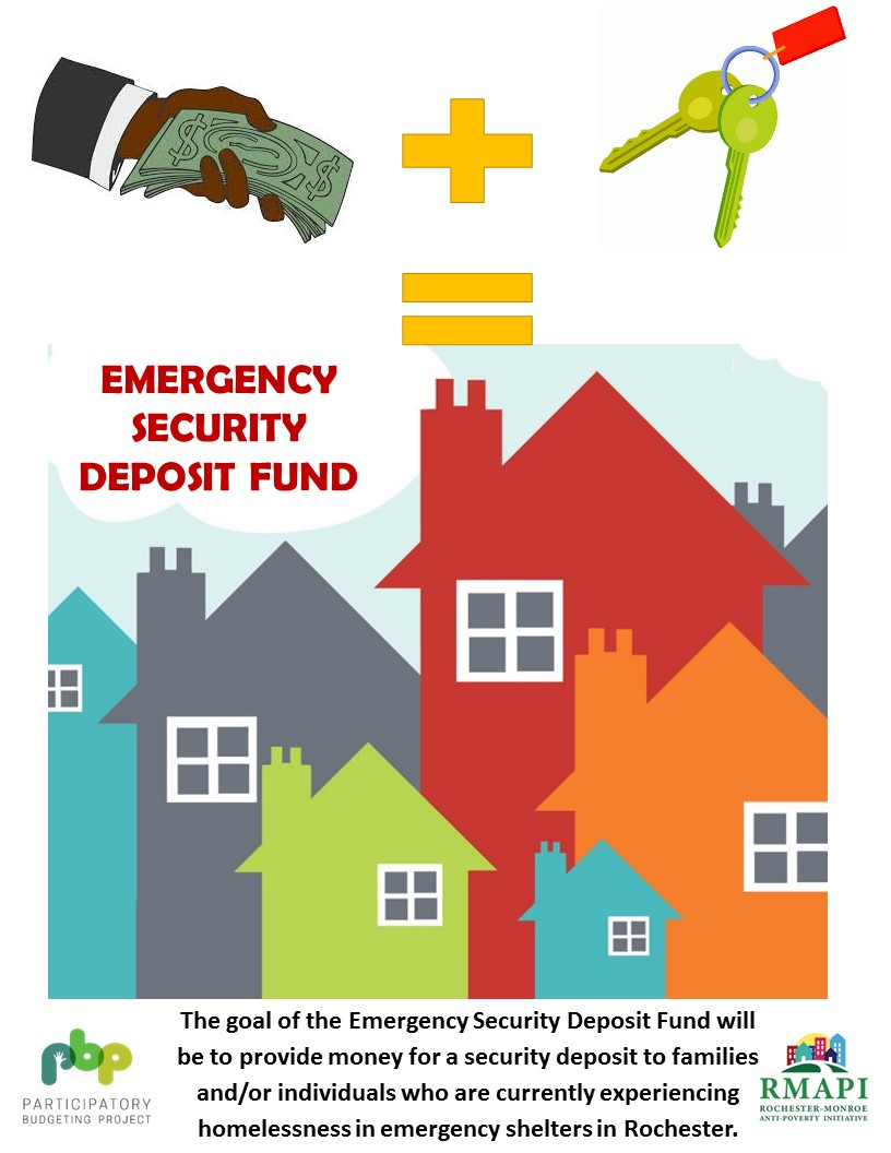 Image for Emergency Security Deposit Fund